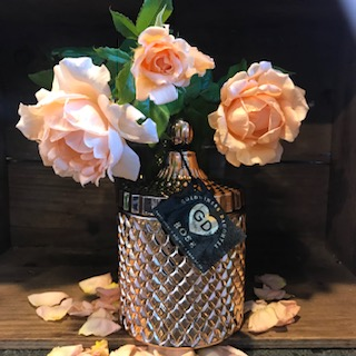 rose gold container
